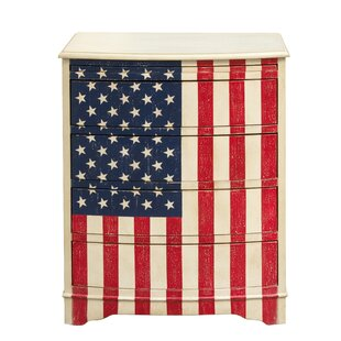 Pledge of Allegiance 4 Drawer Chest by Highway To Home