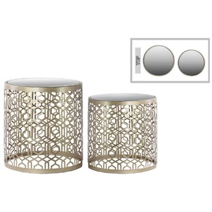 2 Piece Nesting Table Set by Urban Trends