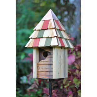 Heartwood Gatehouse 17 in x 8 in x 8 in Nuthatch House