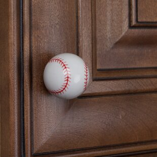 Baseball Novelty Knob (Set of 10)