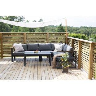 Jiya 5 Seater Corner Sofa Set By Sol 72 Outdoor