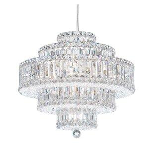 Schonbek chandeliers youll love wayfair plaza 21 light crystal chandelier by schonbek aloadofball Images