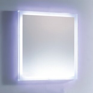 Check Prices LED Lighted Vanity Wall Mirror By Fab Glass and Mirror