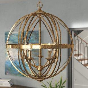 Read Reviews Tokai 5-Light Globe Chandelier By Mercury Row