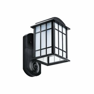 Darby Home Co Veana Security Camera Outdoor Wall Lantern
