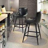 Francesca 32 Swivel Bar Stool by Brayden Studio®