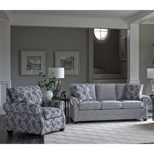 Price comparison Peebles 2 Piece Living Room Set by Canora Grey Reviews (2019) & Buyer's Guide