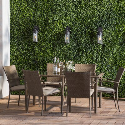 Oxfordshire 7 Piece Dining Set With Cushion by Sol 72 Outdoor Herry Up