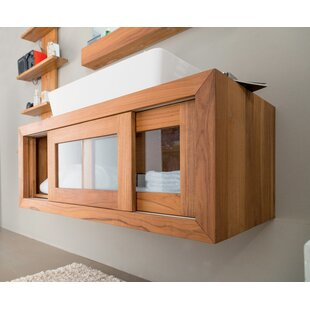 Abner 100cm Wall Mounted Under Sink Storage Unit By Gracie Oaks