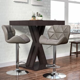 Best Choices Marceline Hydraulic Adjustable Height Swivel Bar Stool (Set of 2) by Zipcode Design Reviews (2019) & Buyer's Guide