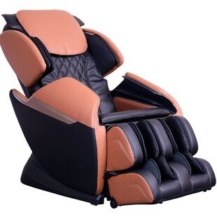 Reclining Full Body Heated Zero Gravity Massage Chair by Latitude Run