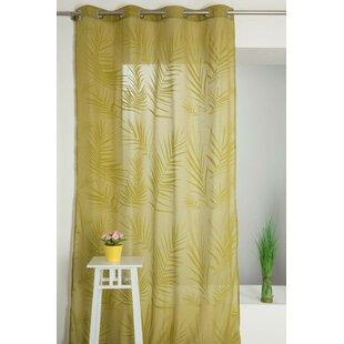 Eyelet Sheer Single Curtain