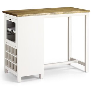 Dunes Combined Furniture Bar With WIne Storage By August Grove