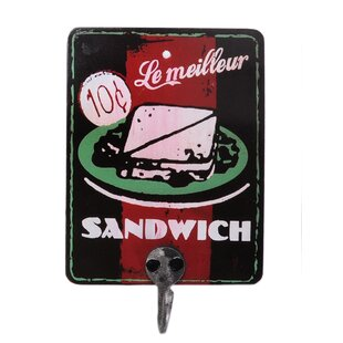 Le Milleur Sandwich Advert Wall Hook By Symple Stuff