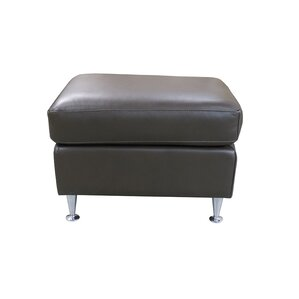 Erika Leather Ottoman by Coja