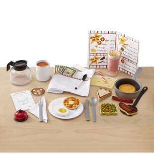 Star Diner Restaurant Play Food Set by Melissa & Doug