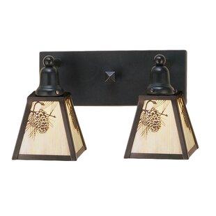 Meyda Tiffany Winter 2-Light Vanity Light