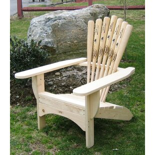 Ski Chair Solid Wood Adirondac..