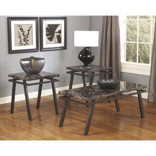 Cyn 3 Piece Coffee Table Set Red Barrel Studio