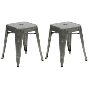 Dunamoy 18 Bar Stool (Set of 2) by Gracie Oaks