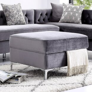 Kaufman Storage Ottoman by Everly Quinn