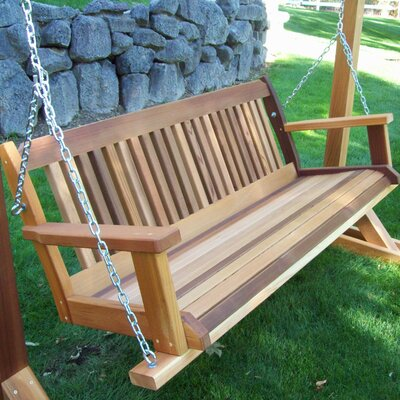 Two Person Wood Porch Swings You Ll Love In 2019 Wayfair