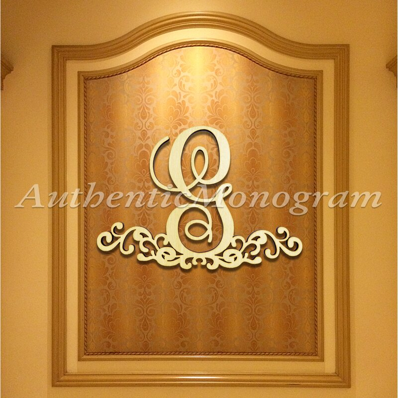 aMonogramArtUnlimited Wooden Dollar Sign Decorated Monogram Letter ...