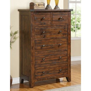 Parnassus Wooden 6 Drawer Chest