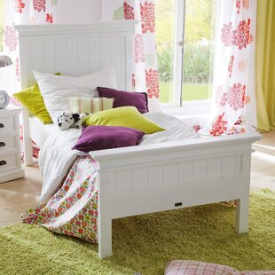 Kyng Solid Wood Sleigh Bed