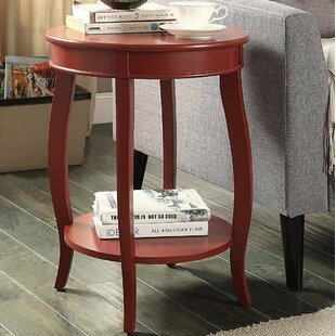 Hundt Modern End Table by August Grove