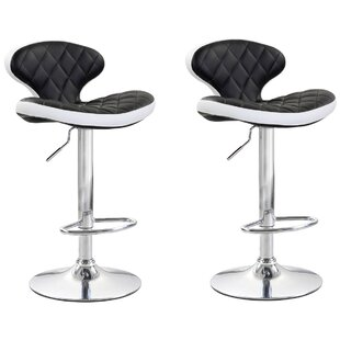 Shuman Adjustable Height Swivel Bar Stool..