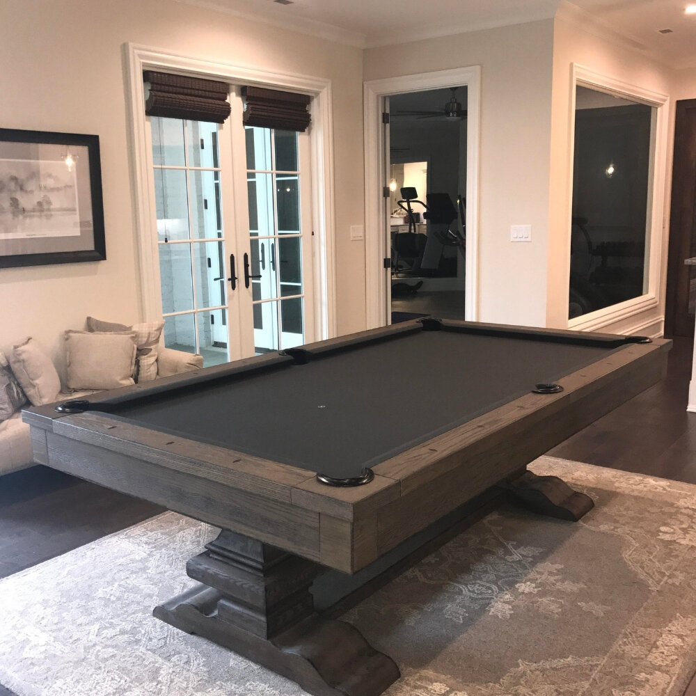 Plank Hide Beaumont Slate Pool Table With Professional