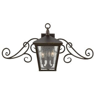 Trellis 3-Light Outdoor Wall Lantern