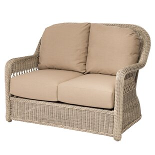 Darby Home Co Barns Patio Loveseat with Cushions