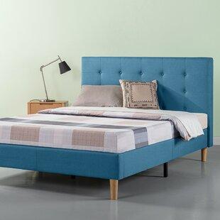 Atkison Upholstered Platform Bed by Wrought Studio