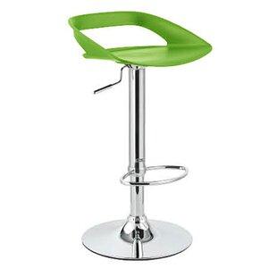Vandue Corporation Chi Adjustable Height Swivel Bar Stool (Set of 2)