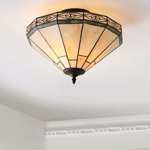 Bueno 2-Light Semi Flush Mount by Canora Grey