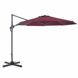 Red Barrel Studio EmeraldCove Patio Offset 10' Cantilever Umbrella