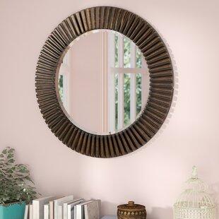 World Menagerie Round Bathroom/Vanity Mirror