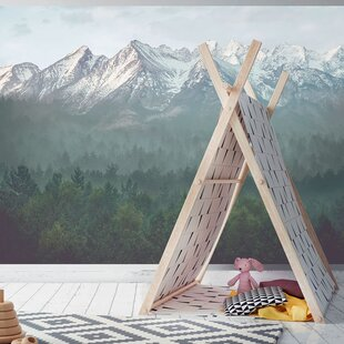 The Great Mountains Murals That Stick  Wallpaper