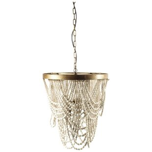 Bungalow Rose Margie 3-Light Novelty Chandelier