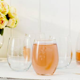 Beachcrest Home Chelton 21 Oz Stemless Wine Glass Wayfair