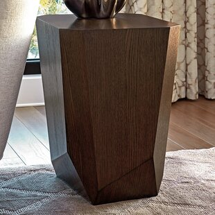 Zavala Tangent Facted End Table