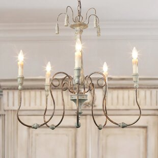 Lebow 5-Light Chandelier by Ophelia & Co.
