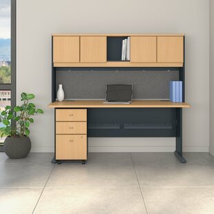 Series A 3 Piece Desk Office Suite by Bush Business Furniture Reviews