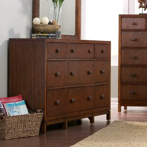 Lowery 9 Drawer Standard Dresser by Union Rustic