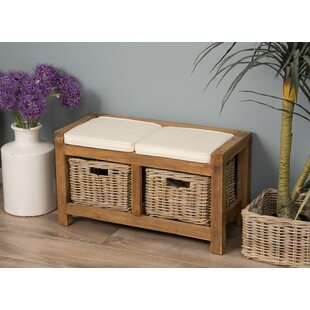 Brynn Wood Storage Bench By Union Rustic