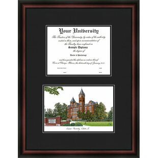 NCAA Auburn University Diplomate Diploma Picture Frame By Campus Images