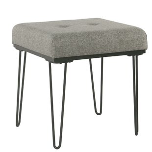 Saleh Tufted Ottoman by Wrought Studio