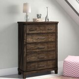 Daramanivong 5 Drawer Chest by Loon Peak®